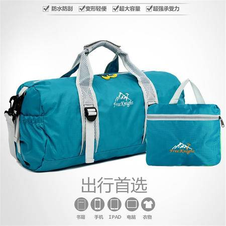 新款男女通用单肩斜跨包时尚桶包折叠包旅行包休闲包