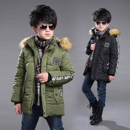 2016冬季新款儿童棉袄 韩版男童棉服童装
