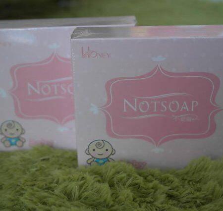 NOTSOAP不是皂嬰兒潔膚皂 精装版/120g