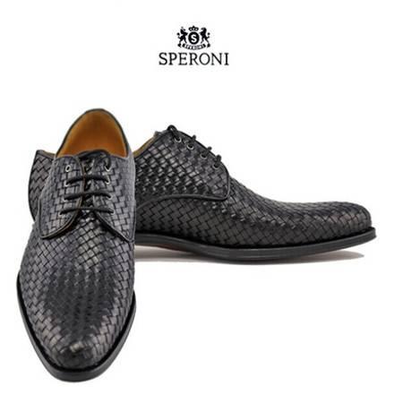 铁狮丹尼牛皮男士皮鞋SP661501C-A38