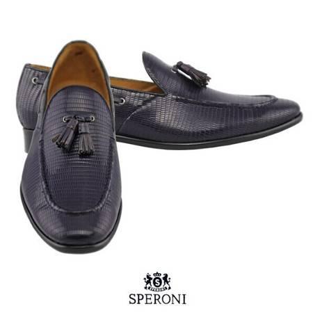 铁狮丹尼牛皮男士皮鞋SP203008