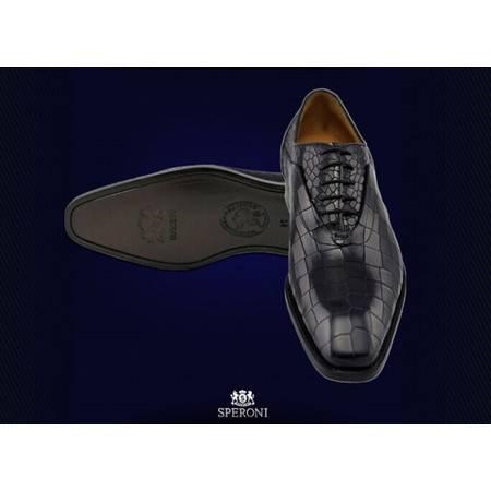 铁狮丹尼鳄鱼皮男士皮鞋SP110912813