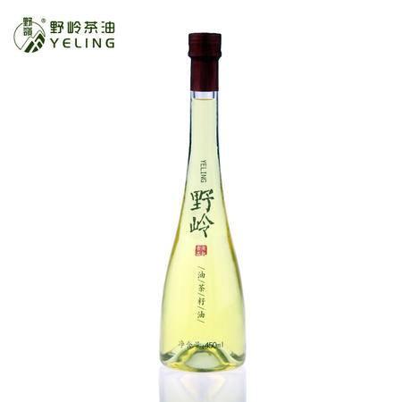 野岭 初榨山茶油 低温物理压榨油茶籽油450ml