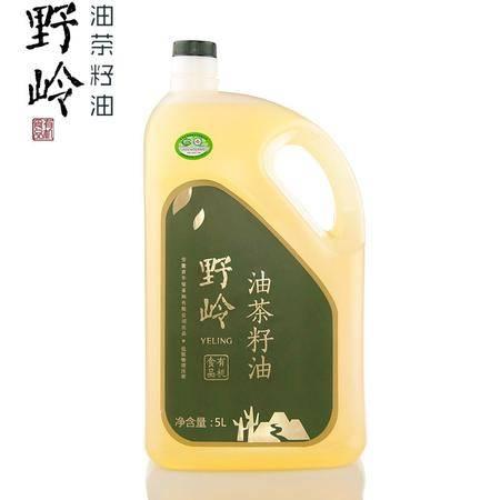 野岭山茶油实惠装5L有机低温物理压榨