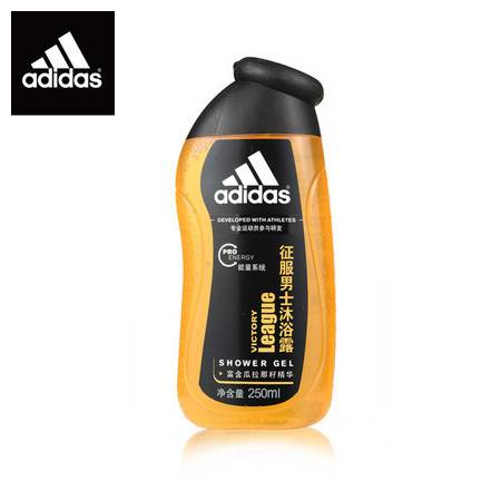 Adidas/阿迪达斯 征服 男士活力沐浴露 250ml