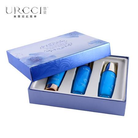 包邮 悠姿美肌水感礼盒 极致补水 洁面+美肌水+乳液