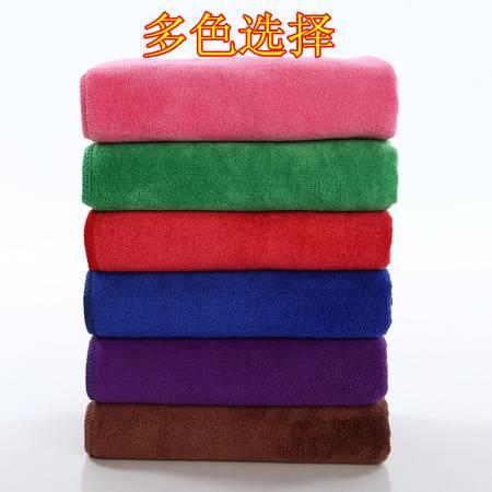 超吸水加厚干发巾超细纤维毛巾理发店美容院绣字批发