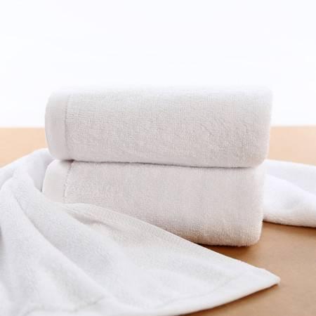 小浴巾纯棉白色300克 50*80 股纱火疗巾 美容院 酒店 宾馆 洗浴用