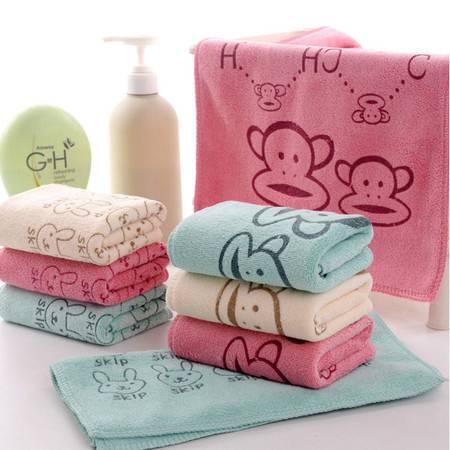 超细纤维印花毛 美容美发 洗车店 专用干发毛巾