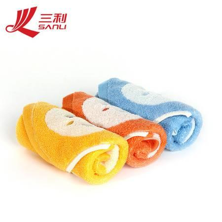 三利毛巾30*30 提花小方巾 纯棉儿童方巾 婴儿吸水小毛巾 2113-2