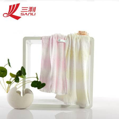 三利毛巾 33*72 品牌毛巾 纯棉美肌密语系列 面巾 C801