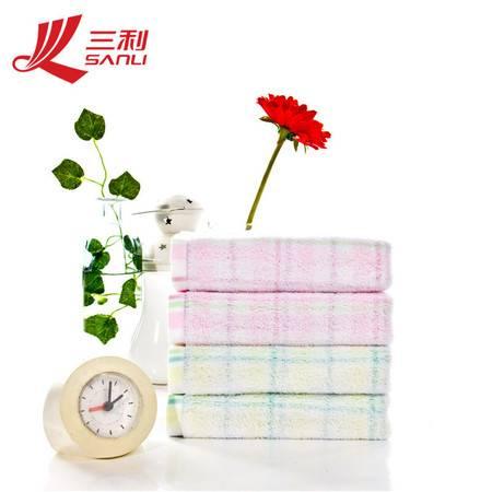 三利毛巾 33*33美肌密语 纯棉方巾 儿童婴儿毛巾 C200
