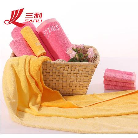 三利毛巾34*72 低价爆款渐变色毛巾 炫彩青春礼品毛巾 8087