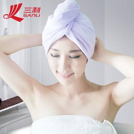 三利毛巾两种型号干发帽可爱浴帽干发巾干发帽65*26韩版速干毛巾 9579/8028