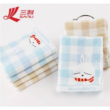 三利毛巾50*25 流氓兔系列 可爱朦朦兔儿童毛巾 三利童巾 M7015
