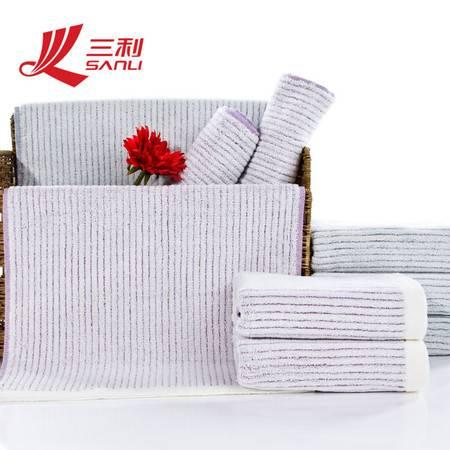 三利毛巾34*75百分百纯棉毛巾 9097 秋冬季新款面巾促销款情侣毛巾