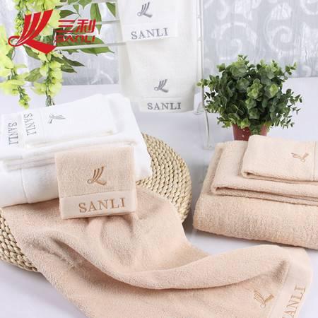 三利毛巾34*74 纯棉精梳棉面巾女士专用毛巾 JS803