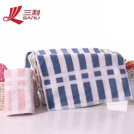 三利毛巾72*34春季新款毛巾 面巾纯棉吸水 9059