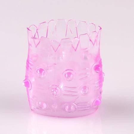 凤梨水晶延时环安全水晶套 情趣用品
