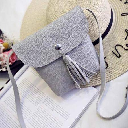 包邮 迷你手机女包斜挎包 2016夏季新款韩国真流苏皮小包 mini单肩包潮