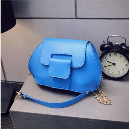 包邮 2016韩国新款单肩包复古链条迷你小包包PU皮女包