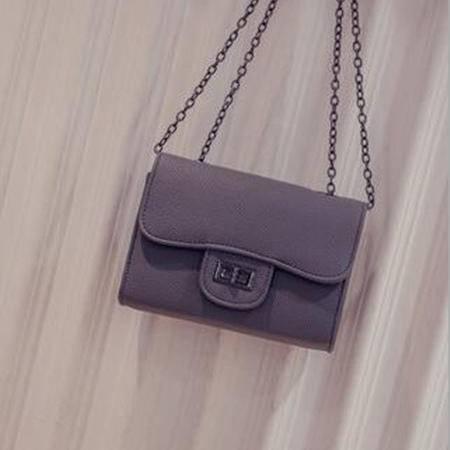 包邮 时尚爆款斜挎包女2016新款女包小包韩版时尚女单肩包链条手机包包