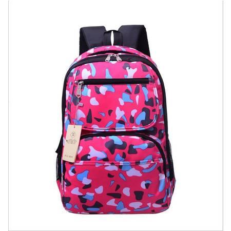 包邮 2016新款大卖迷彩双肩包时尚学生背包女式休闲包