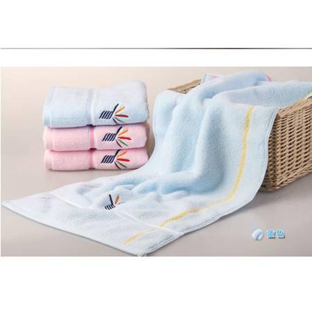 金号毛巾纯棉无捻面巾G1307WH 加大超柔软舒适
