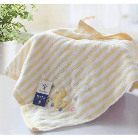金号无捻缎绣抹手巾方巾M4638WH 专柜正品纯棉毛巾简约舒适吸水