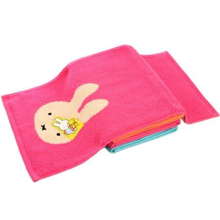 金号纯棉毛巾个性卡通图案柔软吸水舒适无捻/割绒时尚MFT1100WH