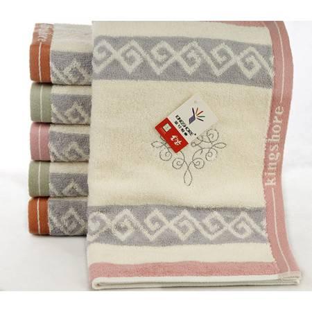 金号毛巾 吸水实用柔软提花绣花纯棉百搭毛巾RA583H