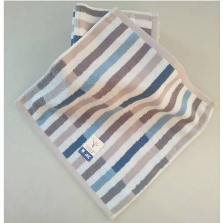 金号毛巾纯棉吸水小方巾割绒加厚儿童洗脸巾家G6965