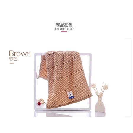金号品牌 特惠纯棉毛巾 提缎面巾 简约时尚 典雅格致G1743A