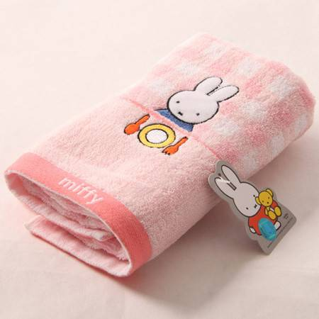 金号正品 米菲兔系列柔软纯棉 情侣毛巾 MF1005H
