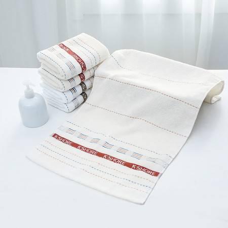 金号毛巾 提缎浮线面巾 纯棉 大方舒适G1808