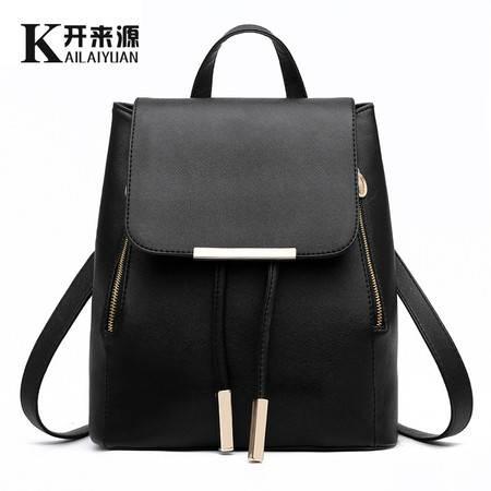 包邮 2016新款背包双肩包女包韩版学院风潮女士包包pu皮休闲书包旅行包