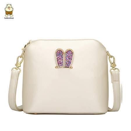包邮 新款小包包时尚潮流单肩女包可爱斜跨包兔耳朵小方包夏