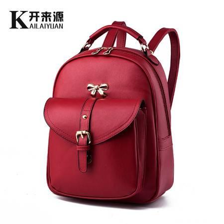 包邮 新款女生书包学院风蝴蝶节双肩背包可爱校园包旅行包