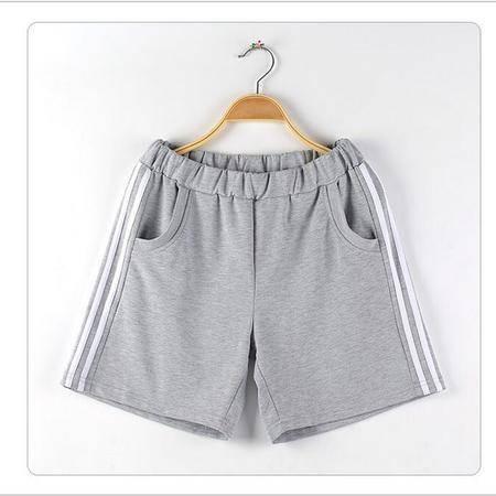 包邮 新款韩版大码女装跑步休闲运动健身短裤胖mm加肥加大200斤夏