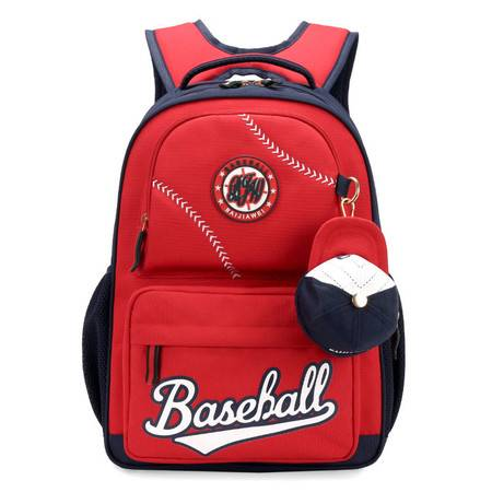 包邮 新品美式棒球帽减负3-6年级小学生双肩学生书包