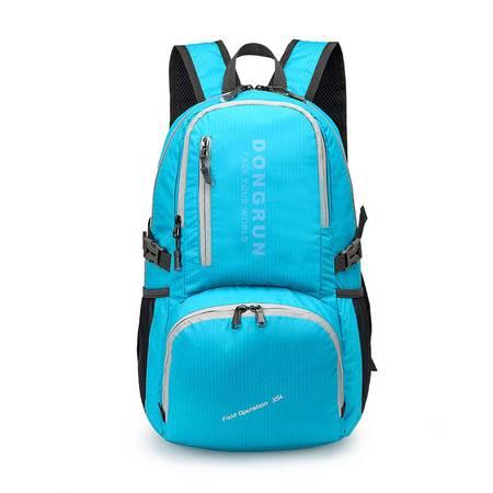 包邮 女韩版便携折叠超轻便夏季新品男女款折叠包旅行包双肩背包