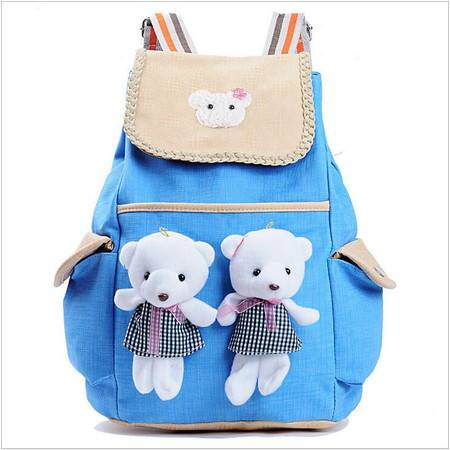 包邮 书包小学生韩版1-3-6年级可爱宝宝淑女6-12岁儿童卡通双肩背包