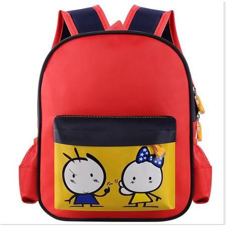 包邮 书包幼儿园女3-6岁批发印字 儿童背包大容量双肩包防水