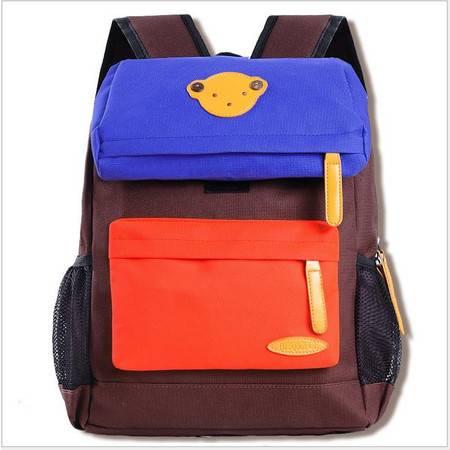 包邮 书包小学生男学前班韩版儿童背包卡通小熊男女款双肩包可定制印字
