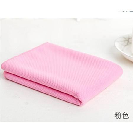 降温冰巾冷感运动冰毛巾 单面 超细纤维单纱冰凉巾防暑冷毛巾 团购