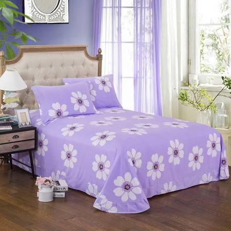 包邮 家纺全棉加厚磨毛床单 双人单件秋冬季纯棉被单保暖床上用品250*250  250*270