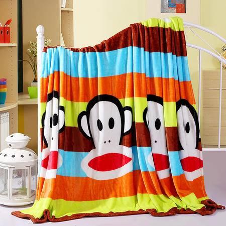 包邮 瑶行床品法兰绒毛毯 升级珊瑚绒毯子法莱绒秋冬新品礼品150X200cm