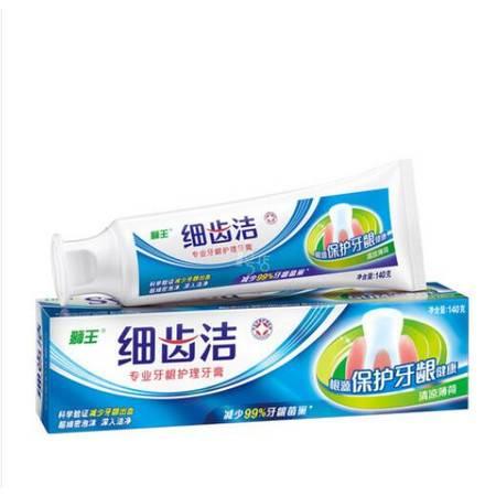 狮王 细齿洁专业牙龈护理牙膏 140g 清凉薄荷
