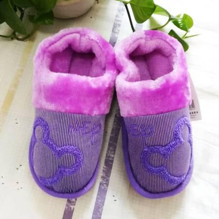 瑶行 家居情侣保暖棉鞋可爱男女款冬季包跟棉拖鞋室内拖鞋