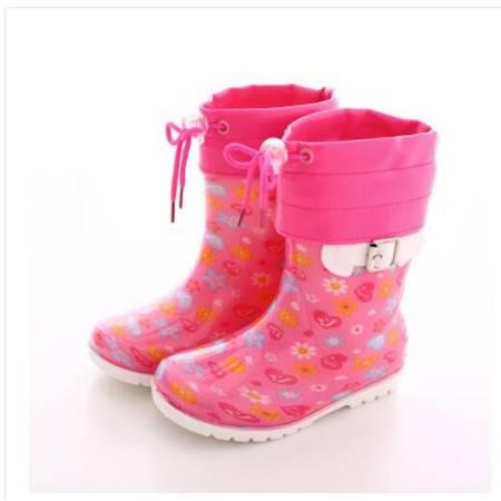 瑶行秋冬日系儿童雨鞋男童时尚卡通雨靴女童宝宝水鞋学生防滑小孩胶鞋